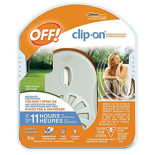 Chasse-moustiques à pince OFF! Clip-on