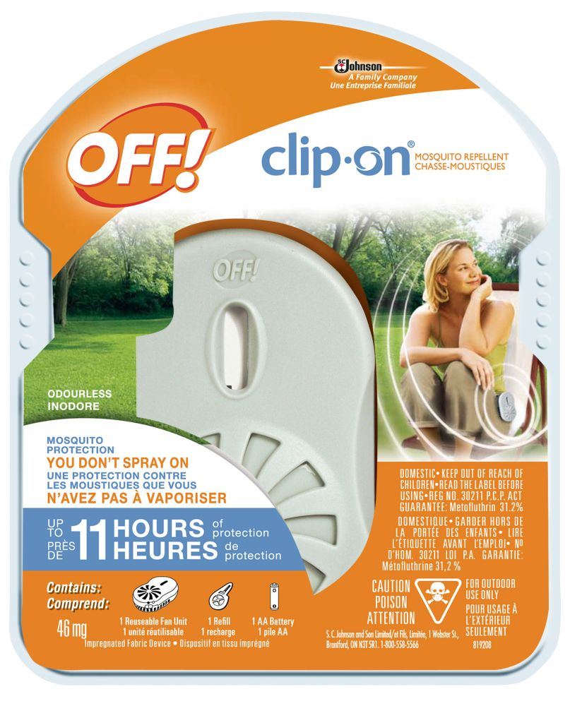 OFF Clip-On Mosquito Repellent Holder