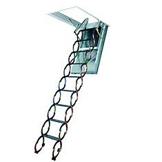 Attic Ladders Pull Down Attic Stairs The Home Depot Canada