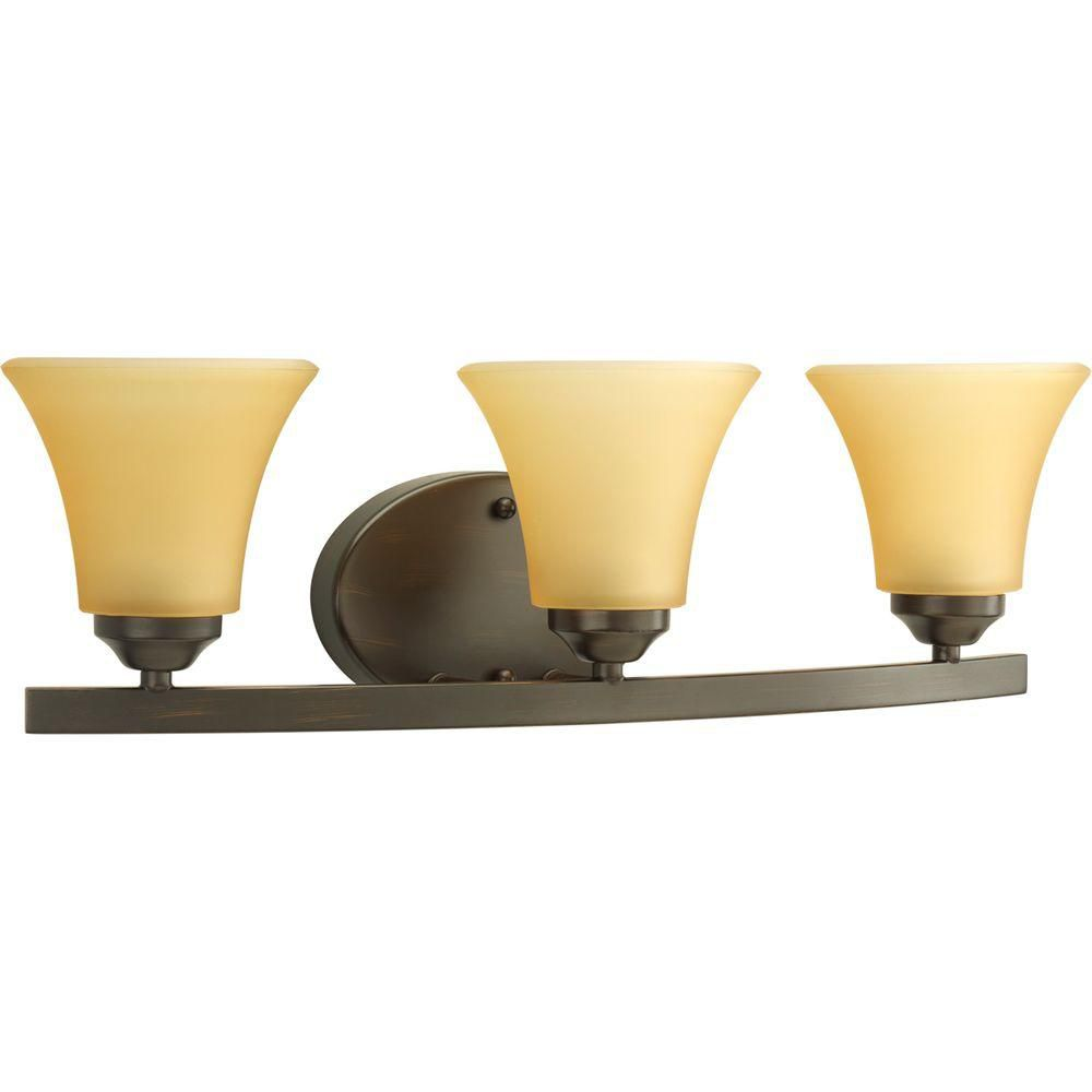 Adorn Collection Antique Bronze 3-light Vanity Fixture