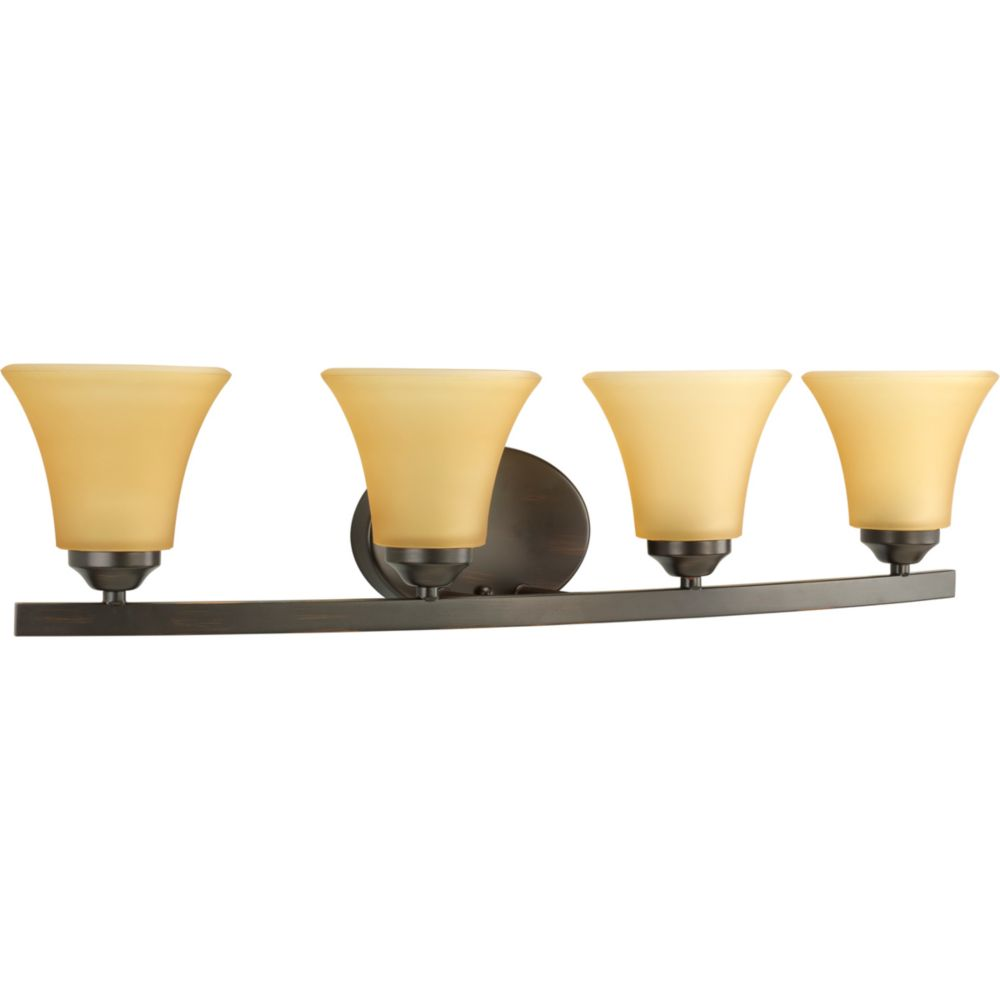 Adorn Collection Antique Bronze 4-light Vanity Fixture