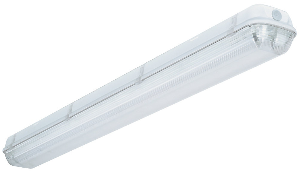 lithonia lighting industrial 2-light white outdoor