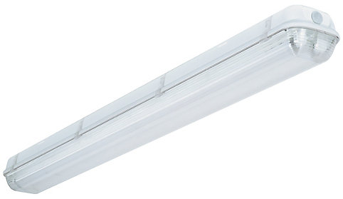 Lithonia lighting industrial 2 light white outdoor fluorescent lithonia lighting industrial 2 light white outdoor fluorescent hanging fixture the home depot canada aloadofball Image collections