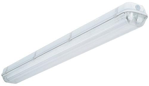 Lithonia lighting industrial 2 light white outdoor fluorescent industrial 2 light white outdoor fluorescent hanging fixture aloadofball Images