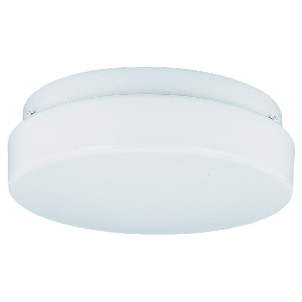 2 Light White Fluorescent Ceiling Fixture