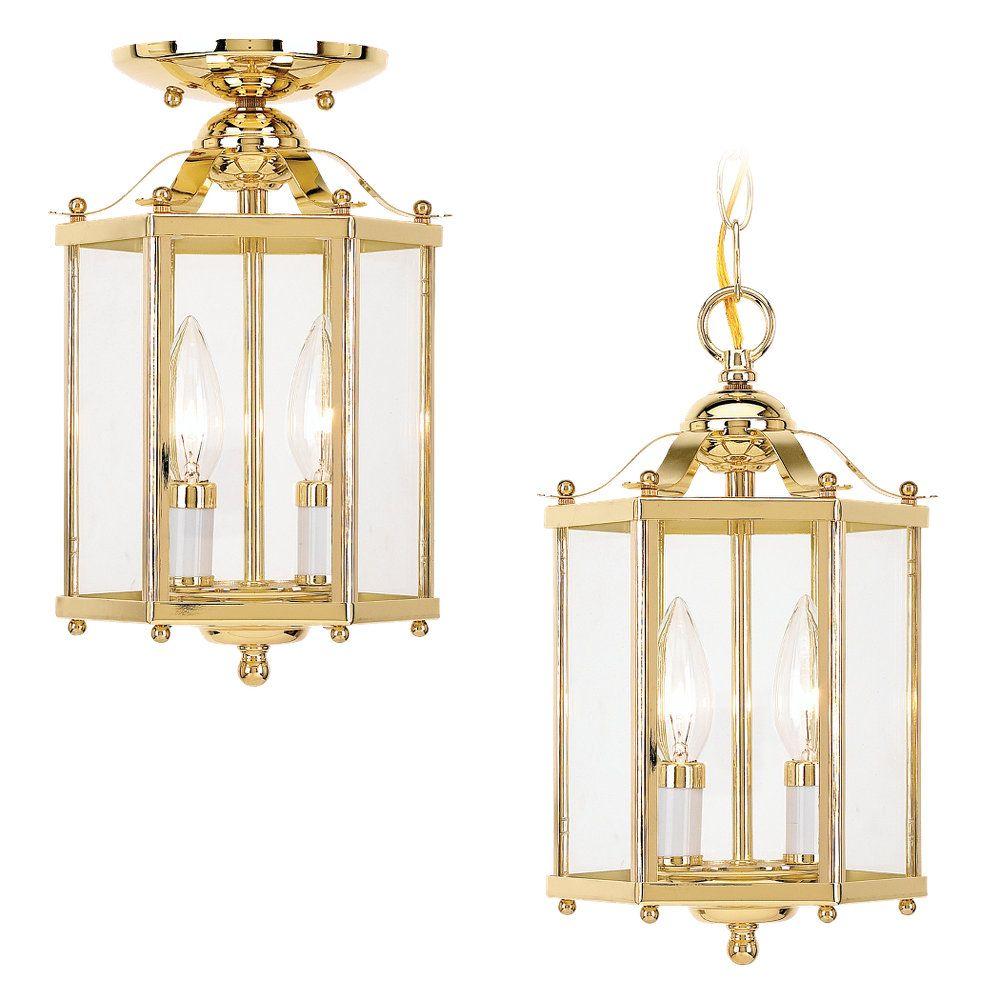 Brass Foyer Chandelier : Sea gull lighting light polished brass incandescent