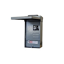 Siemens 4/8 Circuit 125A 240V  SPA Loadcente With 40A GFCI Breaker