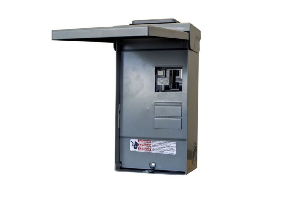 4/8 Circuit 125A 240V Siemens SPA Loadcente With 60A GFCI Breaker