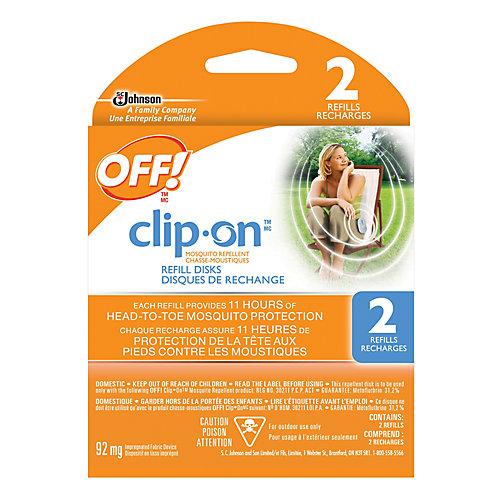 Recharges pour Chasse-moustiques à pince OFF! Clip-on