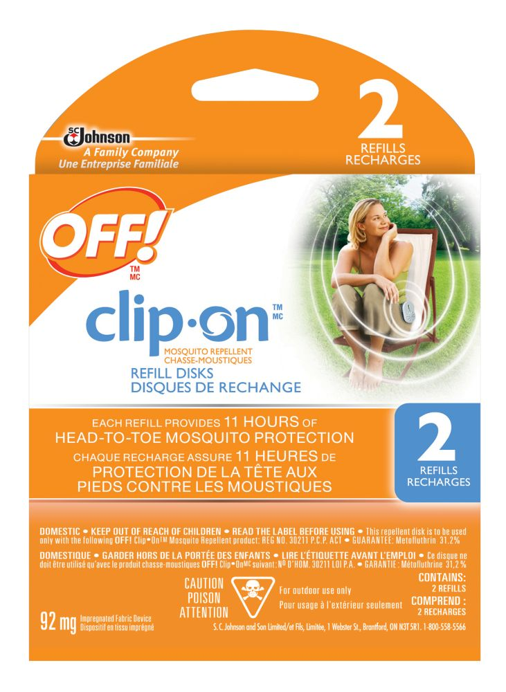 OFF! Clip-On Mosquito Repellent Refill