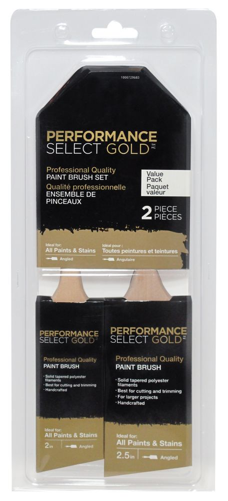 Performance Select Gold 2pk Brush set