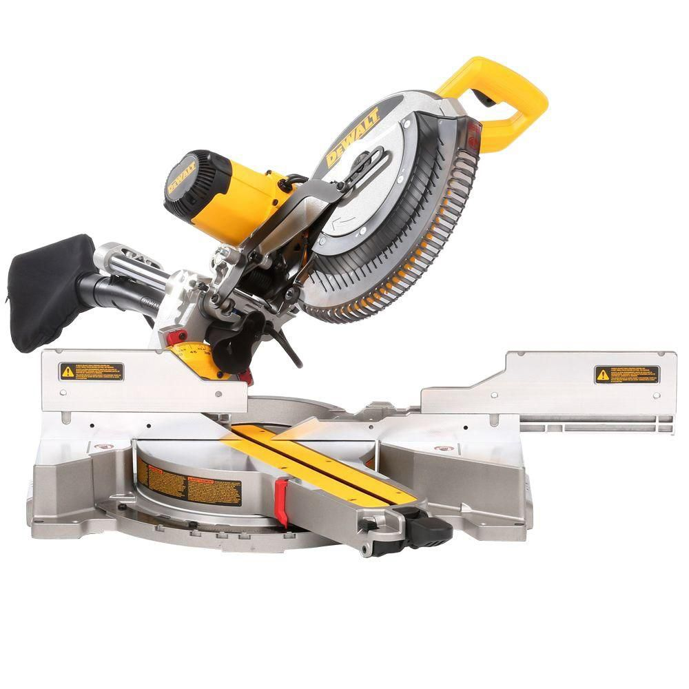 12-inch Double Bevel Sliding Compound Miter Saw - Free Stand