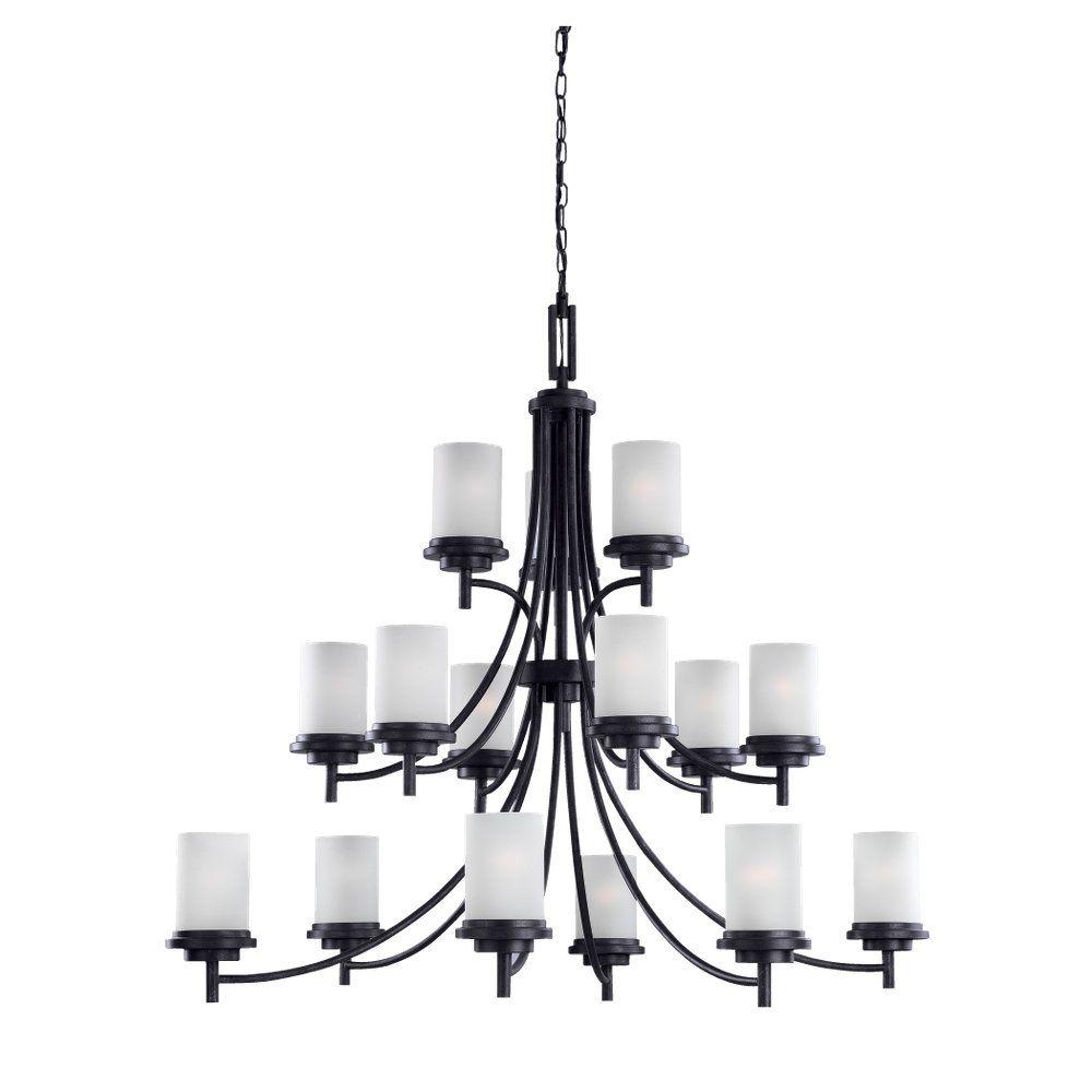 15 Light Blacksmith Incandescent Chandelier