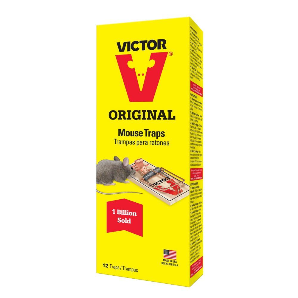 Souricière à pédale métallique de Victor