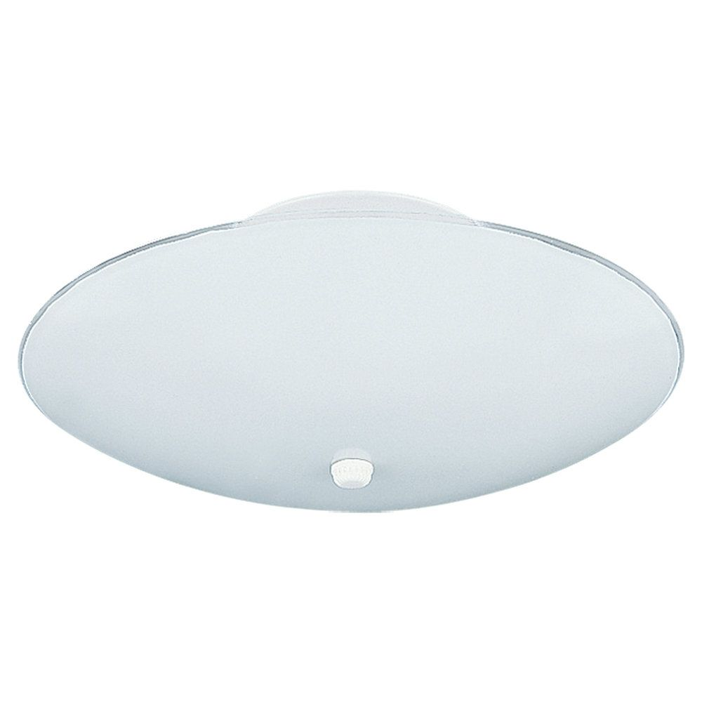 3 Light White Incandescent Ceiling Fixture 7355-15 Canada Discount