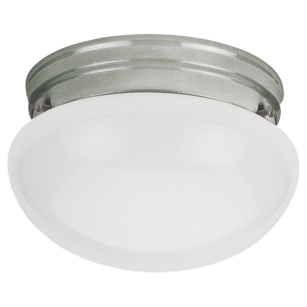 Sea Gull Lighting 1-Light Brushed Nickel Ceiling Fixture