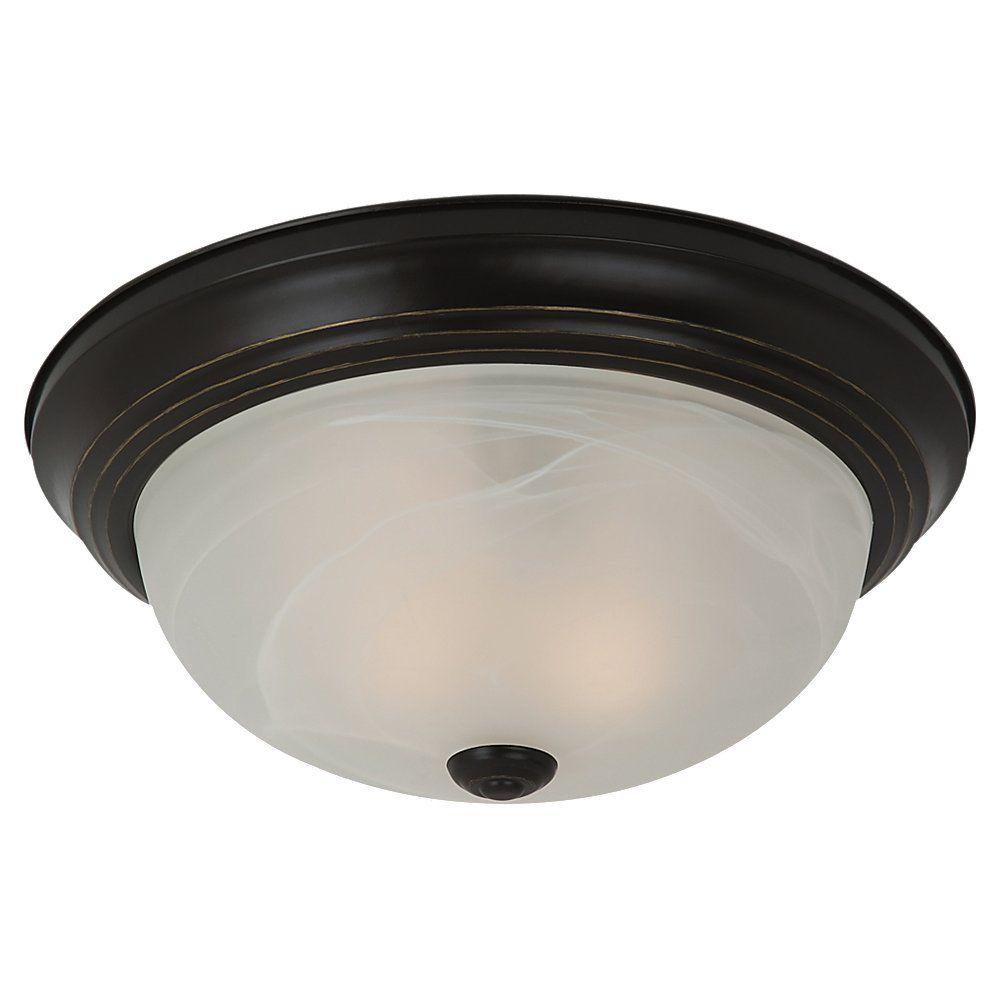 1 Lumière Heirloom Bronze Fluorescent encastré