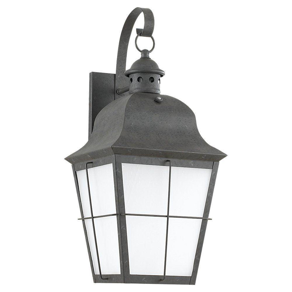 1 Light Oxidized Bronze Fluorescent Outdoor Wall Lantern 89273BLE-46 in Canada
