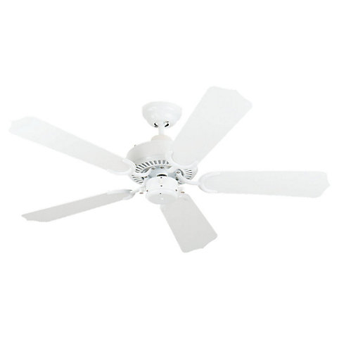 Sea Gull Lighting Bayou 42 Inch Outdoor White Ceiling Fan The Home Depot Canada