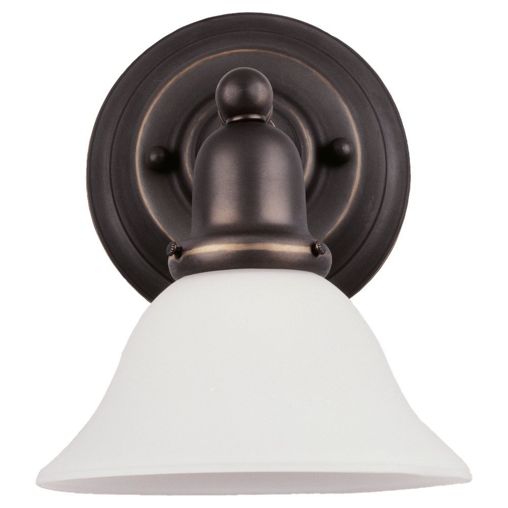 1 Light Heirloom Bronze Fluorescent Bathroom Vanity