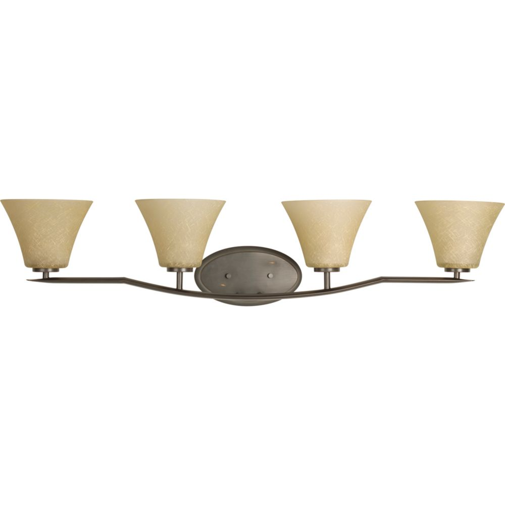 Bravo Collection Antique Bronze 4-light Vanity Fixture 7.85247E 11 Canada Discount