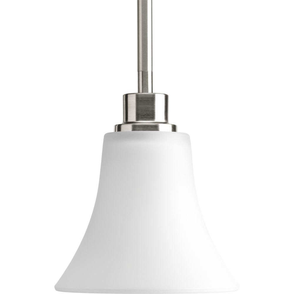 Mini suspension à 1 Lumière, Collection Joy - fini Nickel Brossé