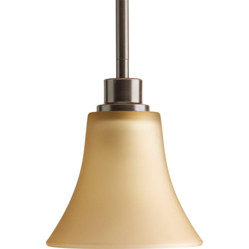 Mini suspension à 1 Lumière, Collection Joy - fini Bronze à l'Ancienne