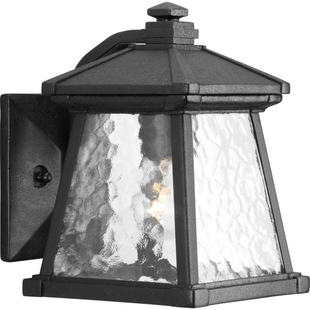 Mac Collection Black 1-light Wall Lantern