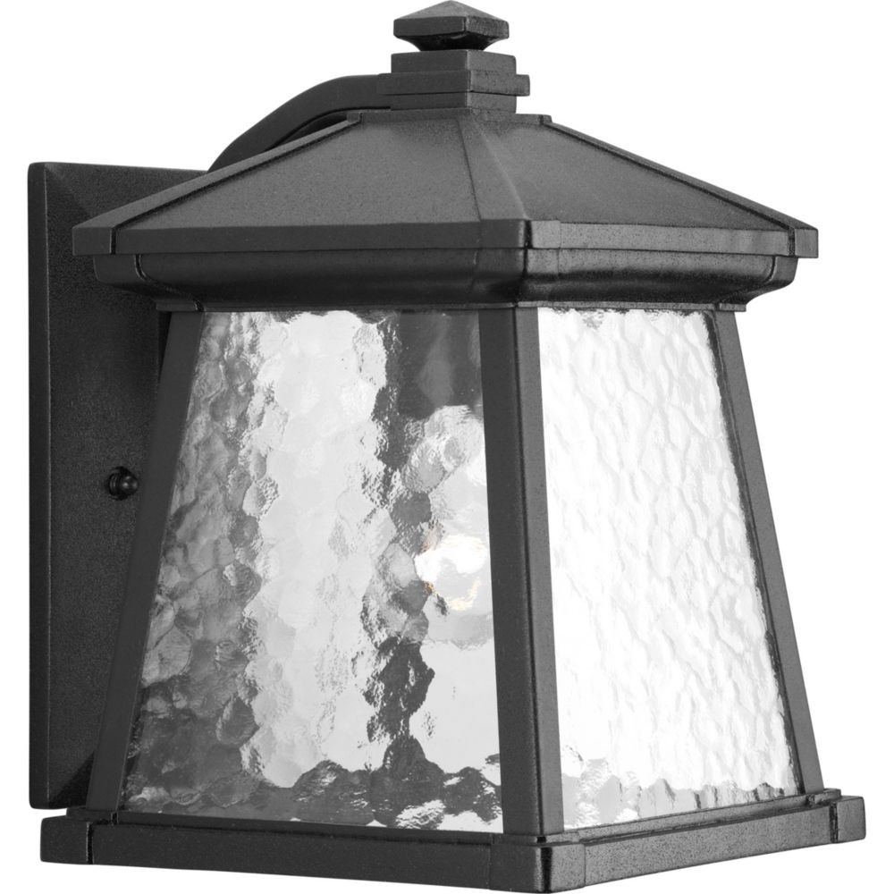 Mac Collection Black 1-light Wall Lantern
