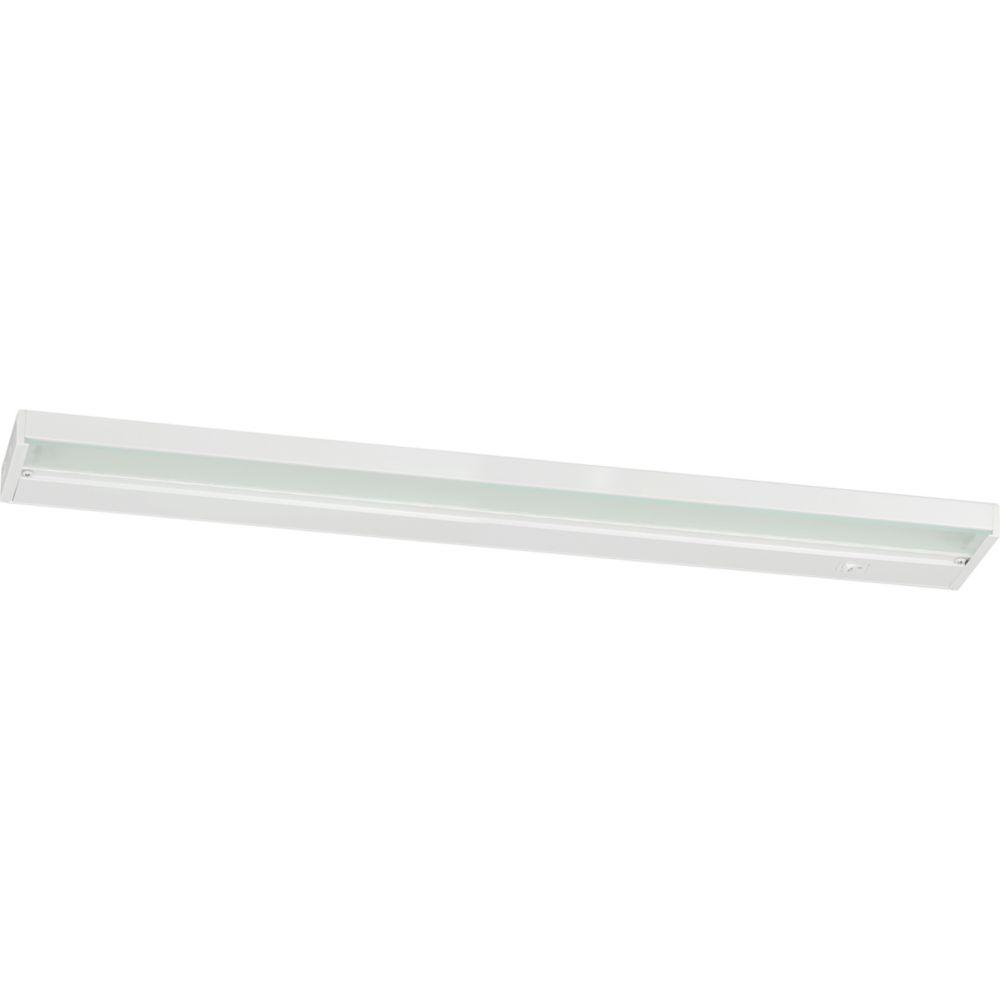 Led Shop Lights Home Depot Canada: Progress Lighting Progress LED White 24 In. Undercabinet