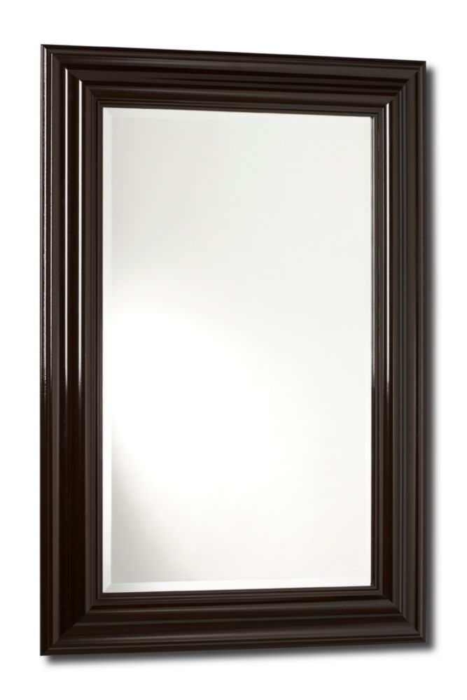The Vanity-G, Mirror Gloss Brown - 18 inches x 30 inches