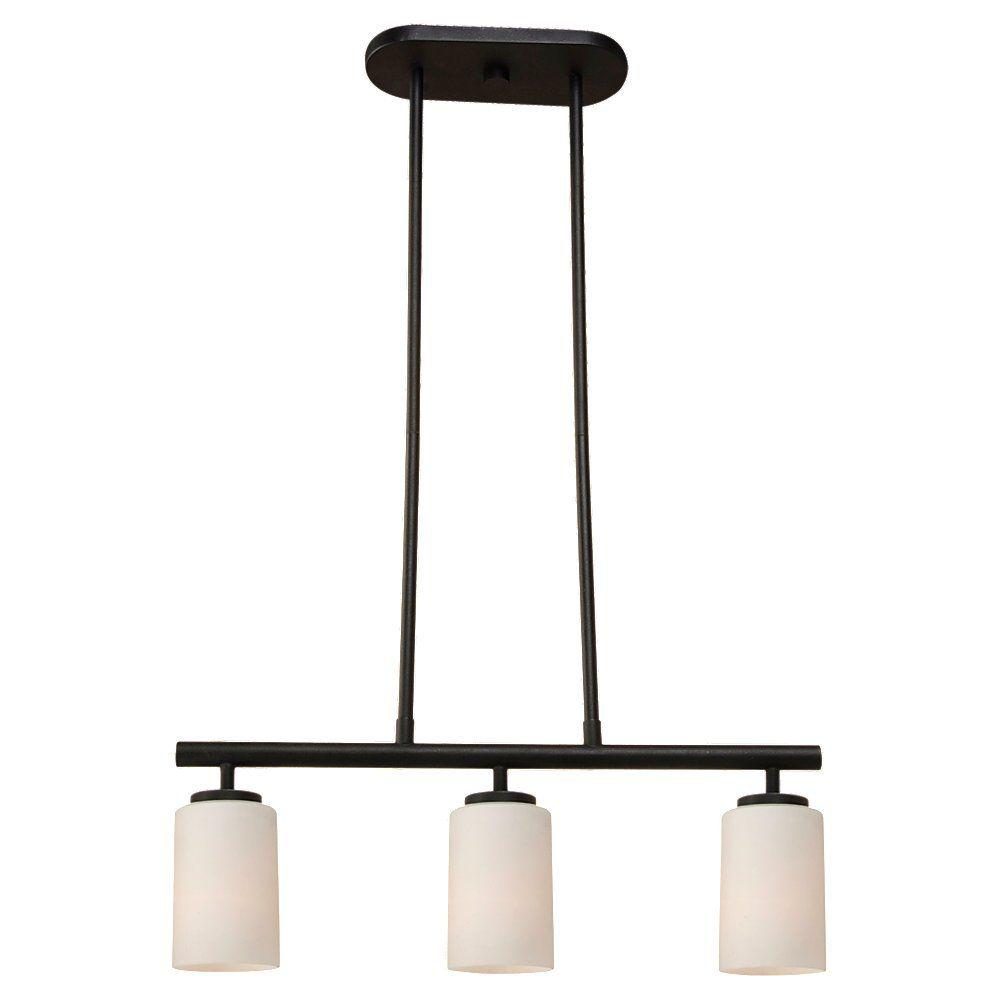 3 Light Blacksmith Incandescent Pendant