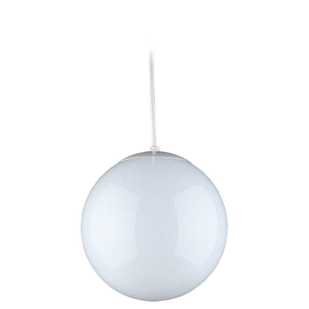 1 lumière blanche Pendentif à incandescence