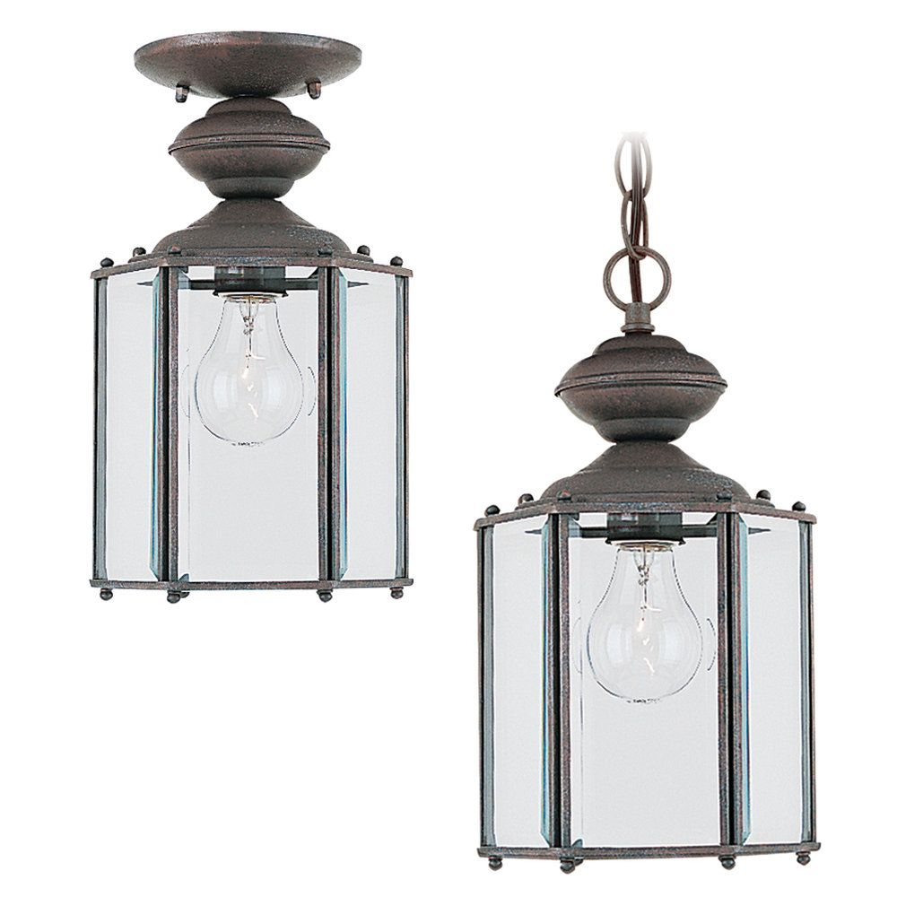 1-Light Sienna Outdoor Pendant