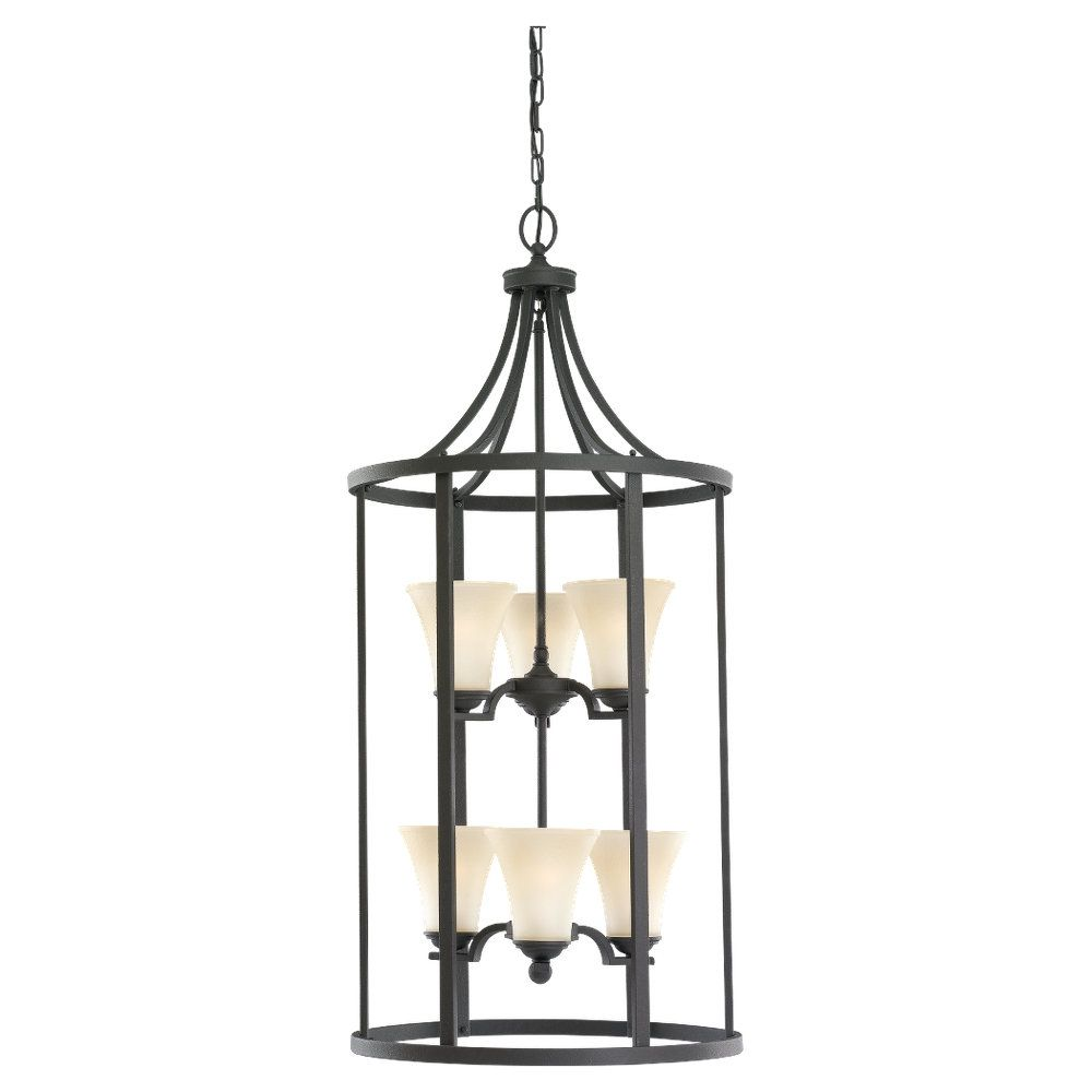 Home Depot Canada Foyer Lighting : Progress lighting gather collection light antique bronze