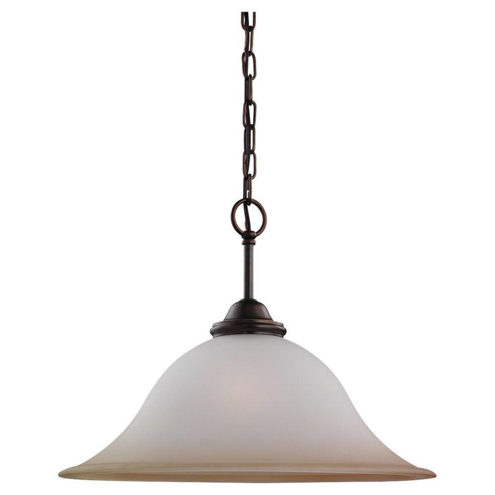 1-Light Russet Bronze Pendant