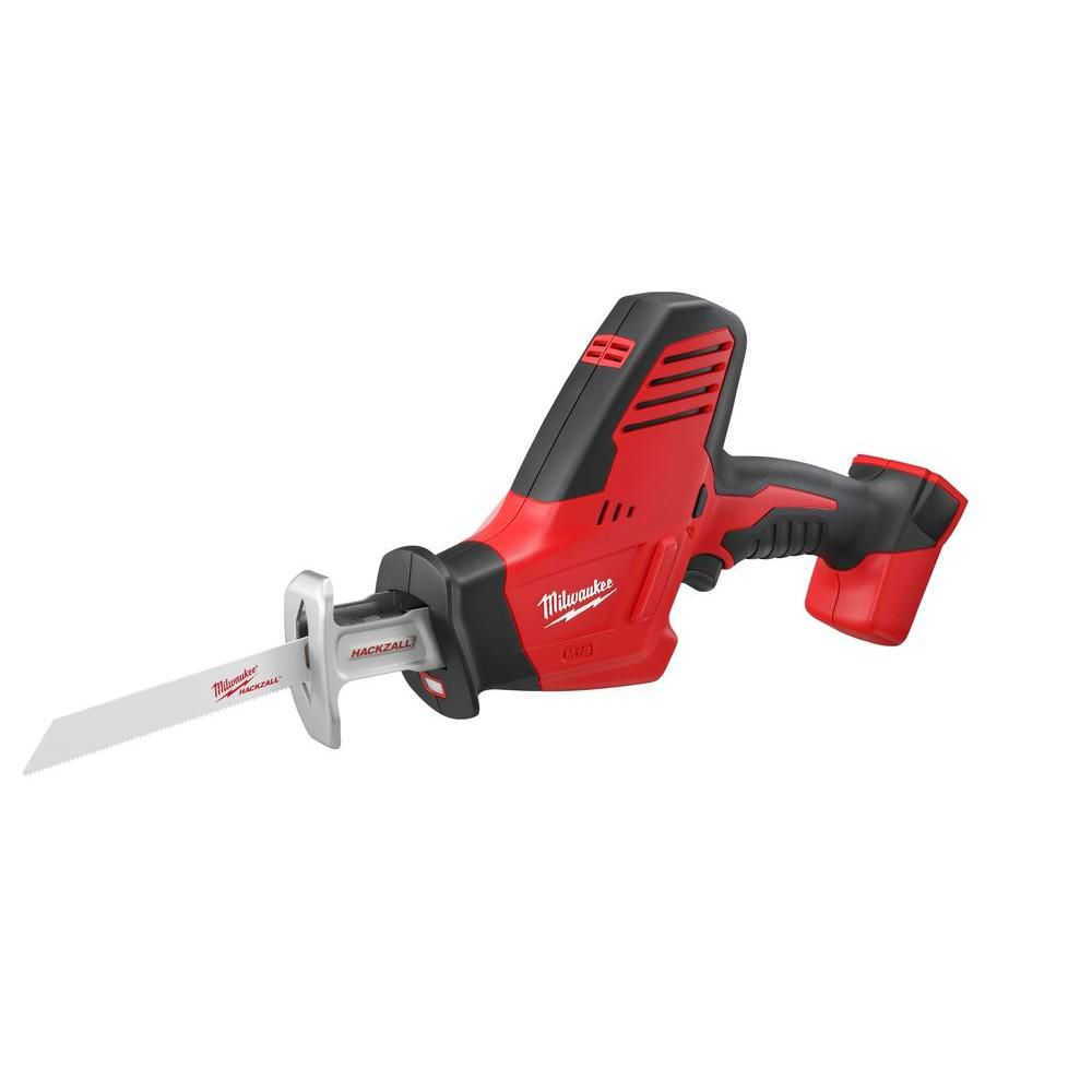 Milwaukee Tool M18 18-Volt Lithium-Ion Cordless Hackzall Reciprocating Saw (Tool-Only)