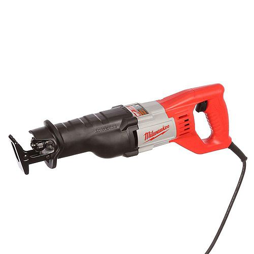 Milwaukee Tool 12 Amp SAWZALL Reciprocating Saw with Case