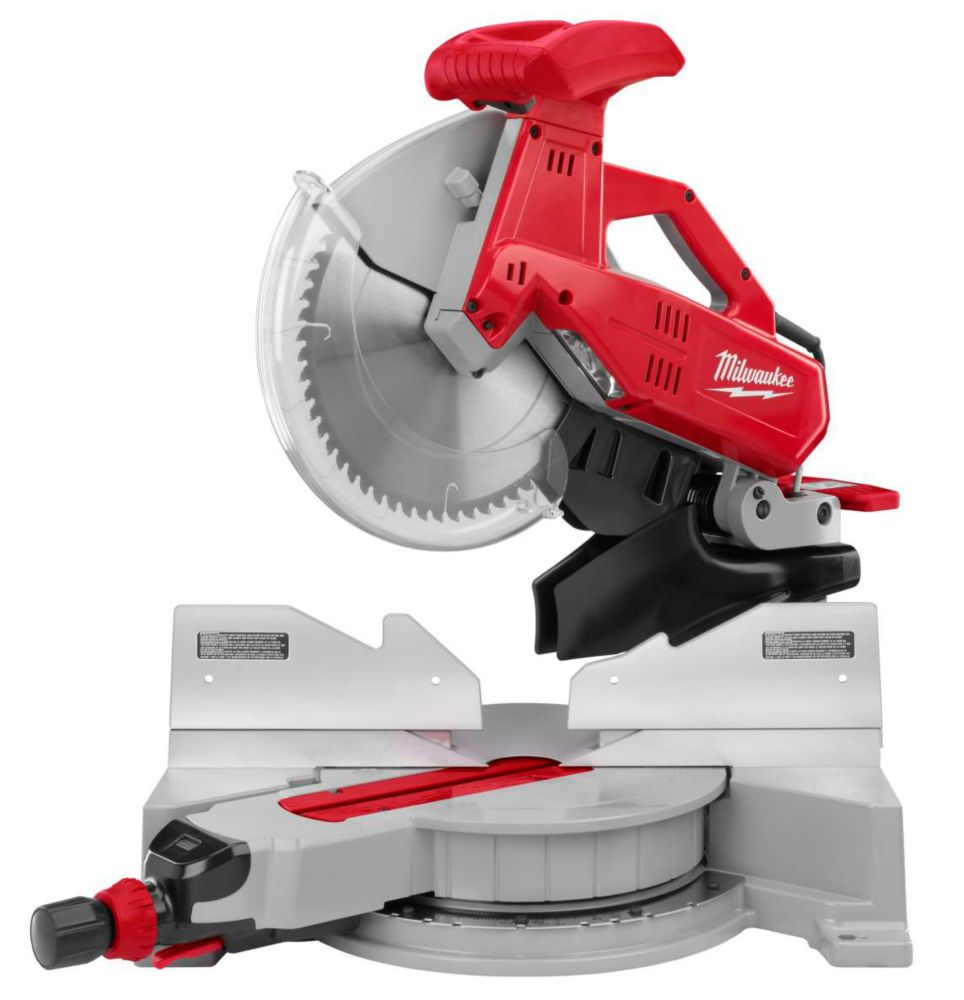 "Milwaukee Tool 12"" Double-Bevel Compound Mitre Saw"