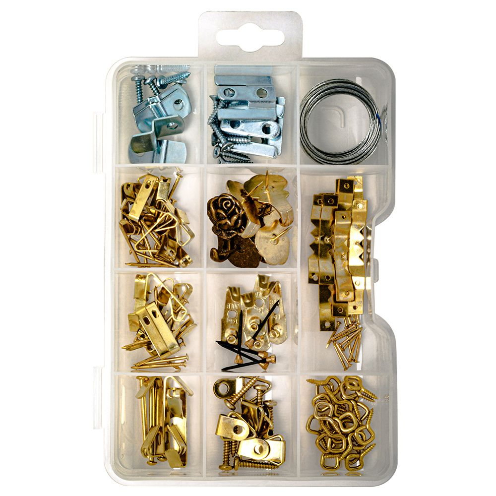 Picture Hanger Kit - 136Pcs