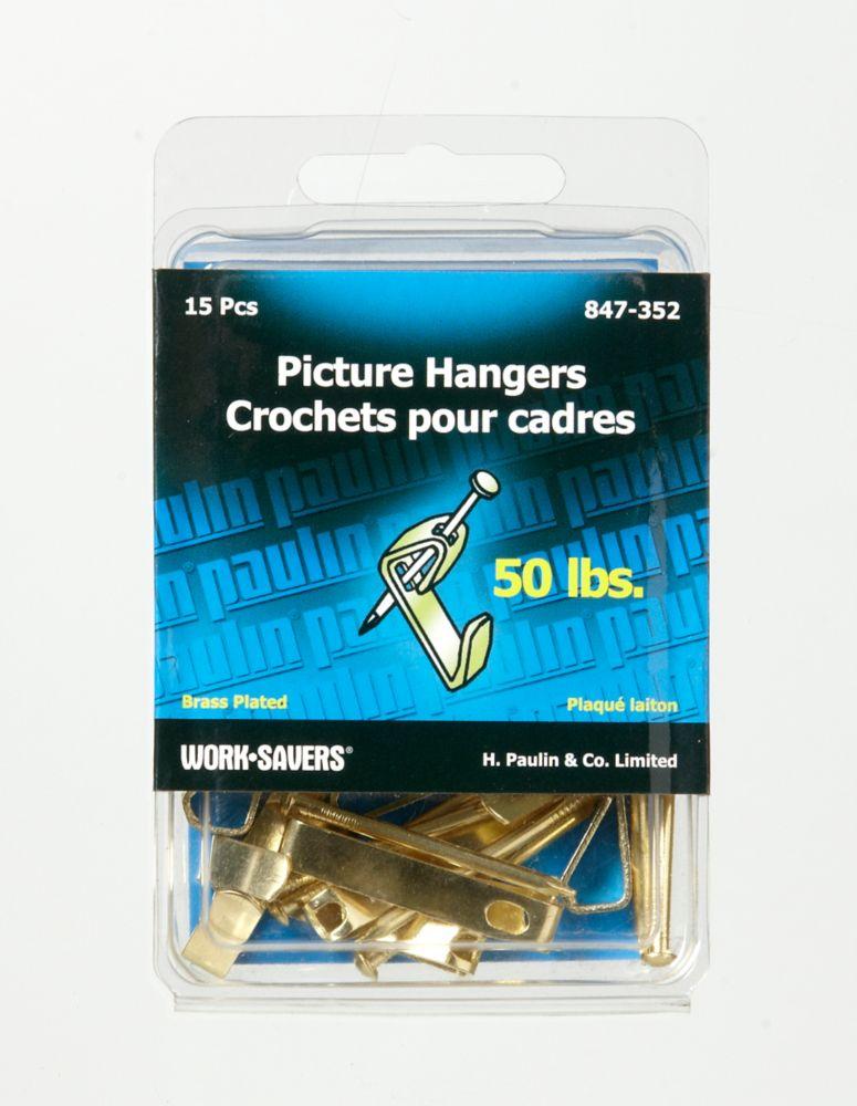 Hanger 50Lb Bulk Pack - 15Pcs
