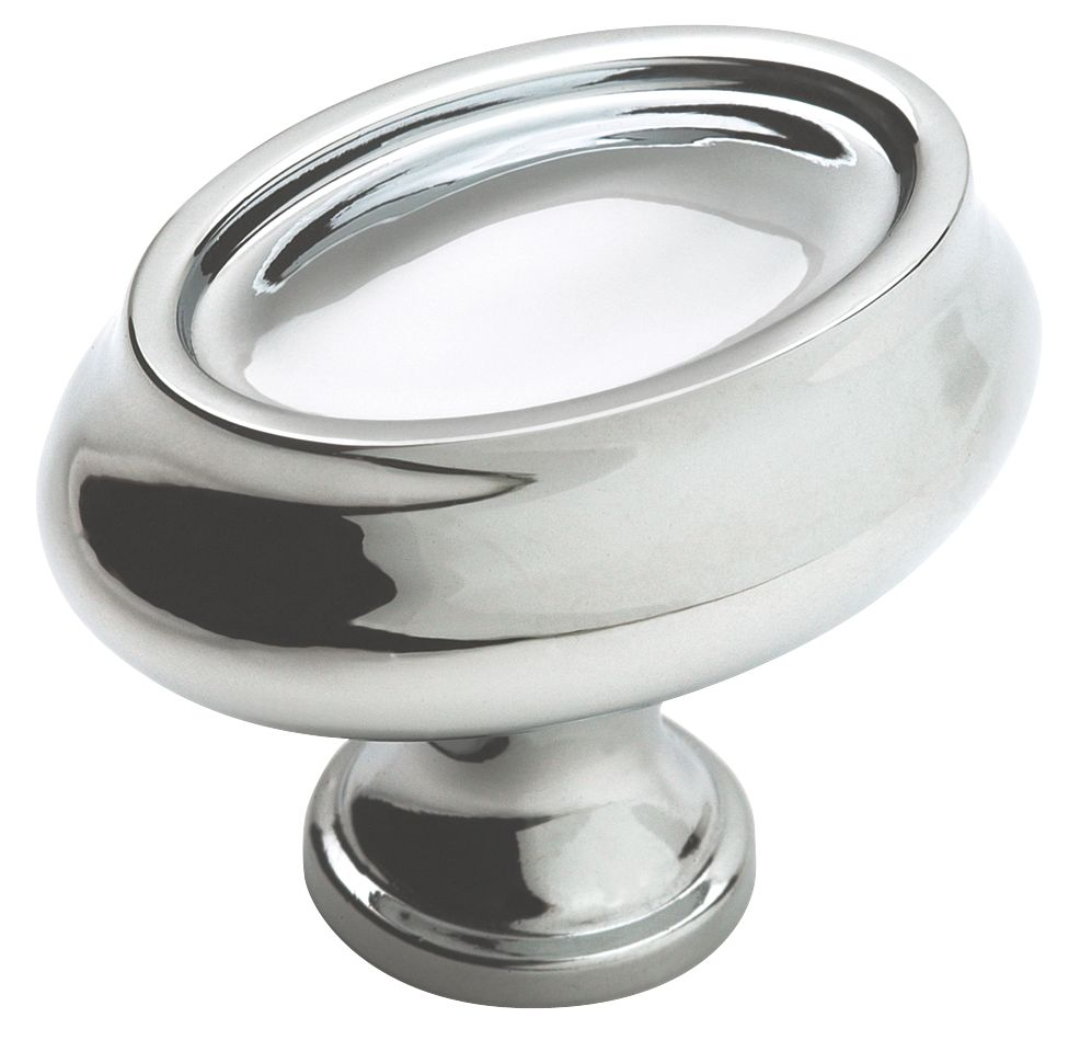 "1 1/2"" Diameter MANOR Collection POLISHED CHROME FINISH Knob"