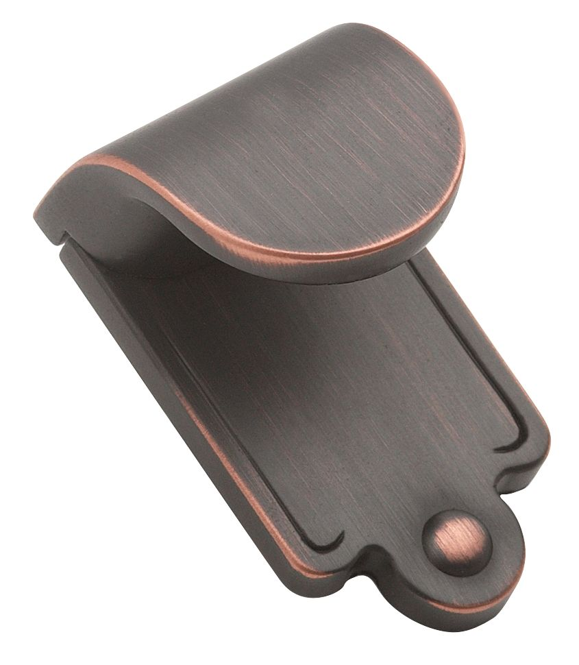 """1 7/8"""" Height INSPIRATIONS� Collection OIL RUBBED BRONZE FINISH Finger Pull"""