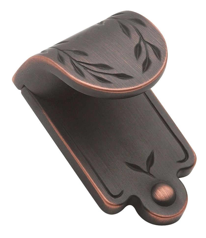 "1 7/8"" Height INSPIRATIONS� Collection OIL RUBBED BRONZE FINISH Finger Pull"