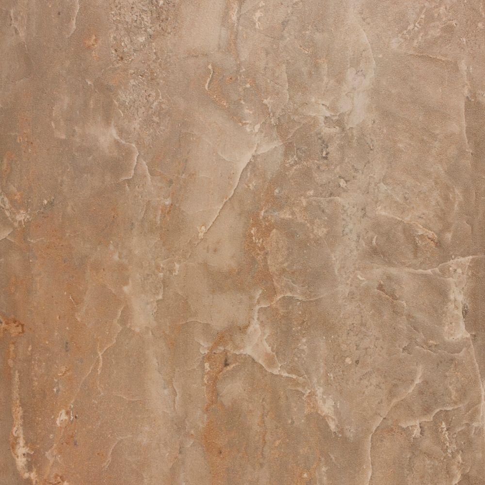 Onyx Royal Noce 18 inch x 18 inch Glazed Polished Porcelain Tiles (13.5 Sq. Ft. / Case)