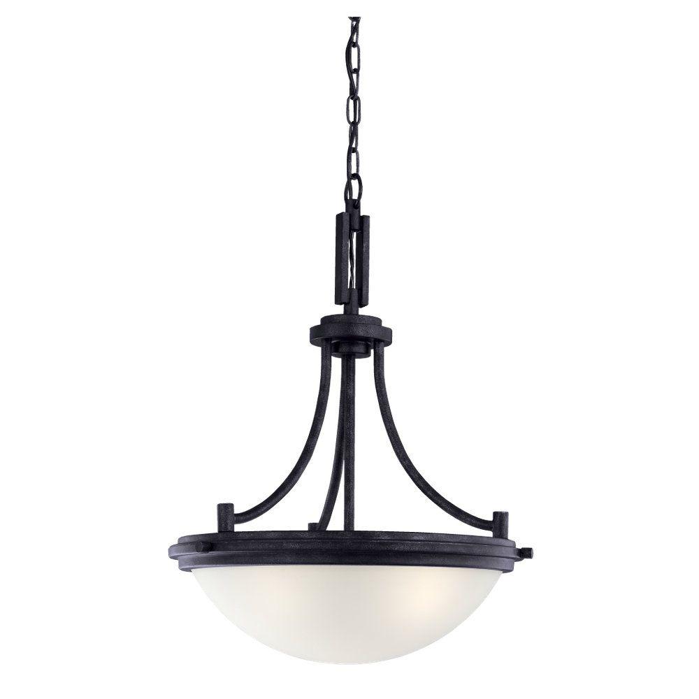 3-Light Blacksmith Pendant