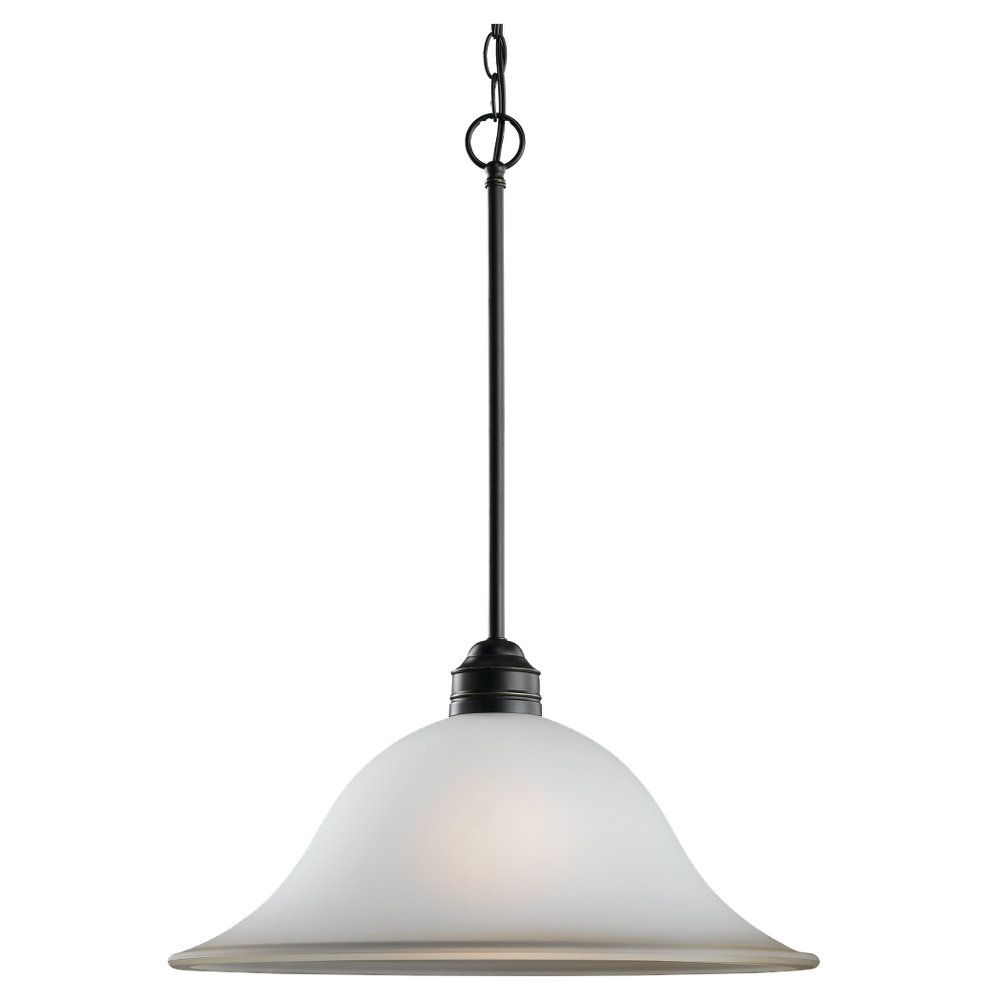 1-Light Heirloom Bronze Pendant