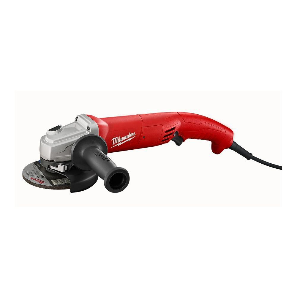 11 amp 5- Inch Small Angle Grinder with Trigger Grip