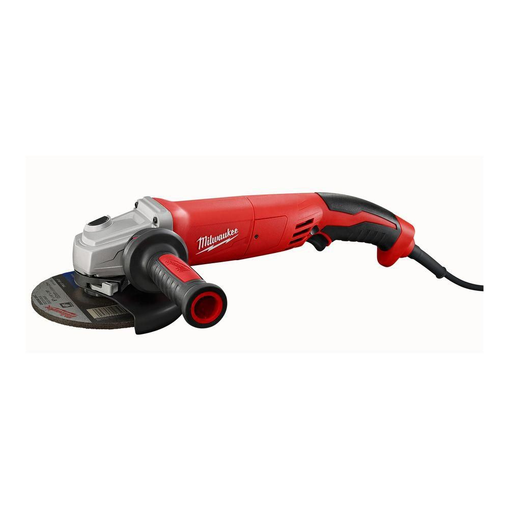 13 amp 6- Inch Small Angle Grinder with Trigger Grip
