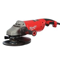 Milwaukee Tool 15 amp 7- Inch/9- Inch Large Angle Grinder
